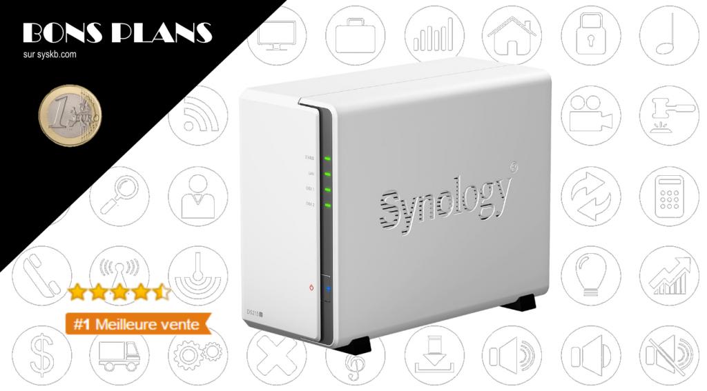 Numéro 1 des ventes de NAS sur Amazon : Le Synology DS215j