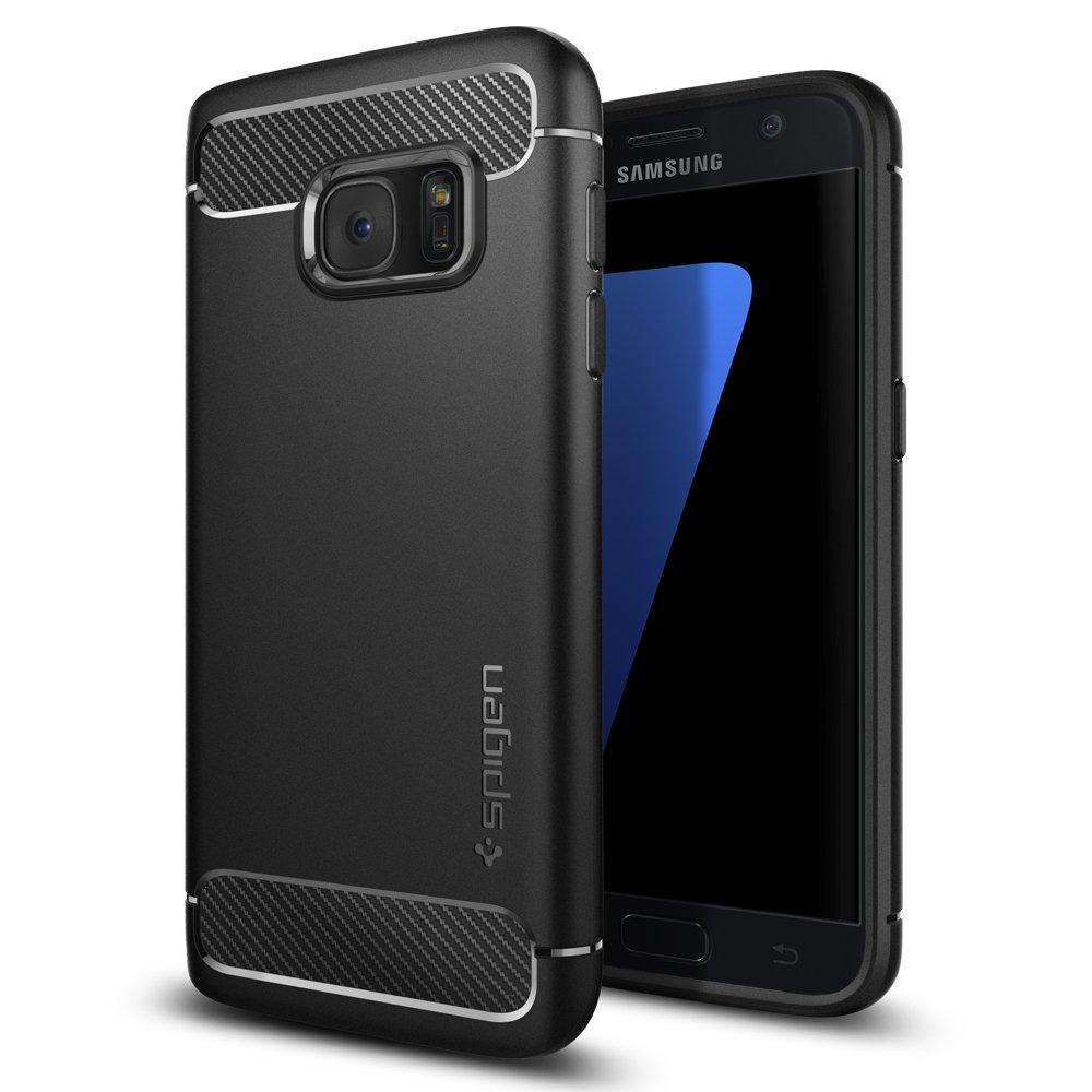4 excellentes coques de protection : Coque Galaxy S7 Spigen Rugged Armor