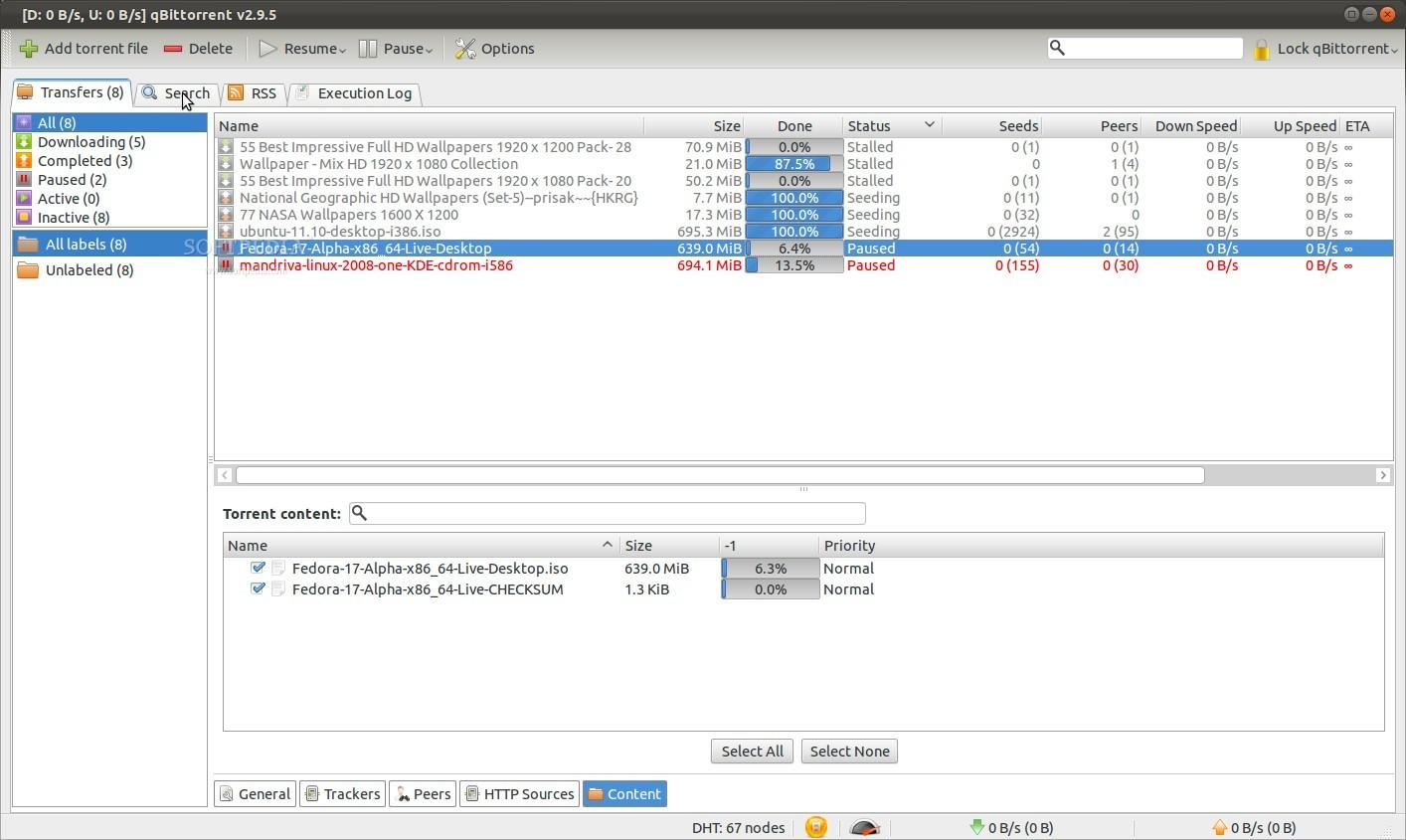 Le client Torrent qBittorrent pour télécharger légalement et illégalement