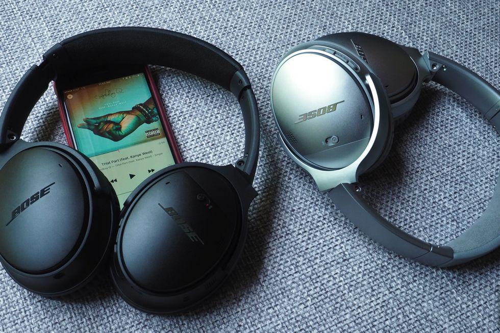 Casque audio à réduction de bruit : BOSE QC35