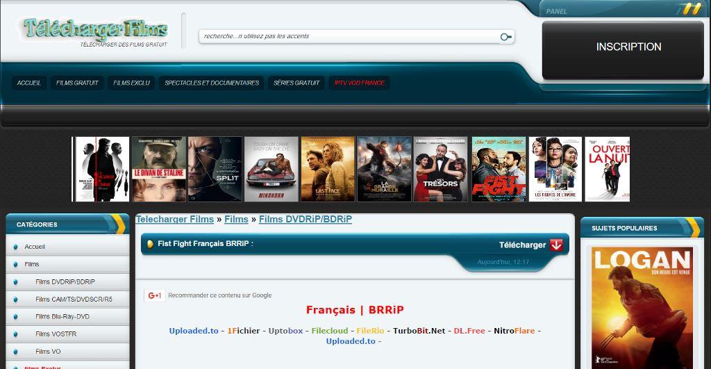 sites de telechargement des films gratuit