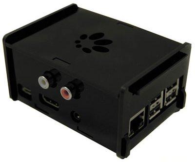 Raspberry Pi et DAC Hifiberry utilisé comme lecteur audio réseau Haute Fidélité