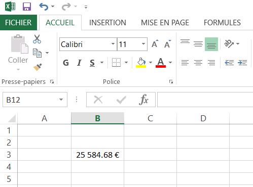 Changer le caractère de décimale dans Excel - Point ou Virgule