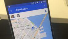 Google Maps permet de partager sa localisation