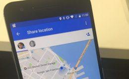 Partager son emplacement avec Google Maps