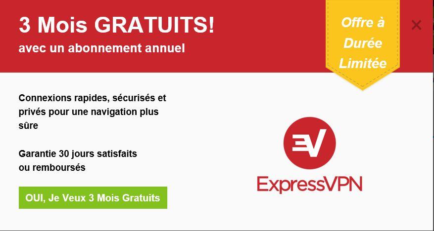 Promotion ExpressVPN