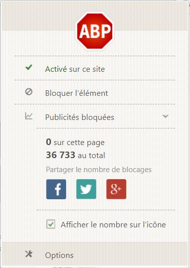 Fen tre adblock plus for Bloquer fenetre pub