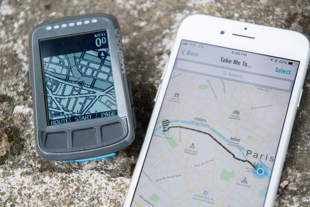 Meilleurs GPS Vélo pour la navigation : Wahoo Elemnt Bolt