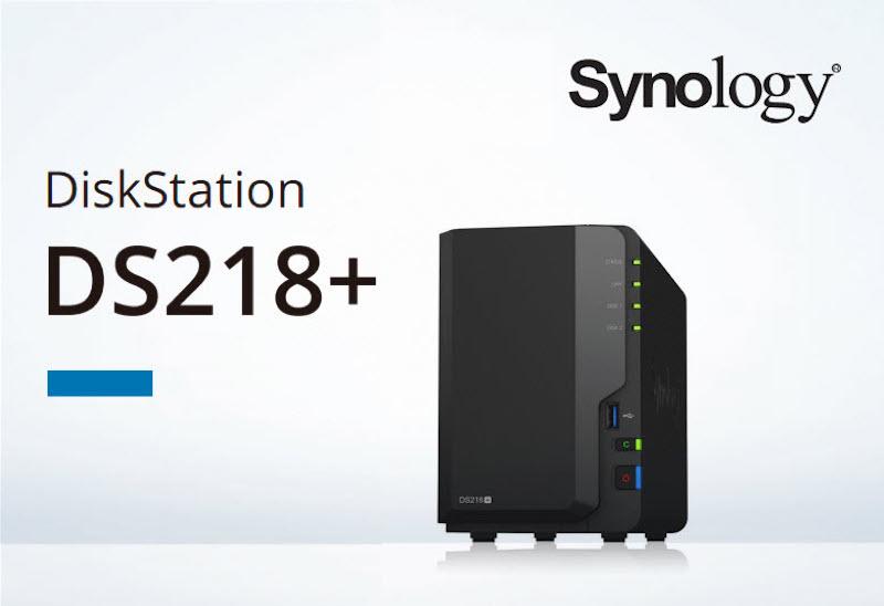 Synology DS218+, un NAS à 2 baies ultra performant pour ceux qui veulent pouvoir faire du transcodage 4K à la volée