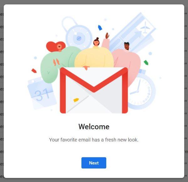 Présentation du nouveau Gmail