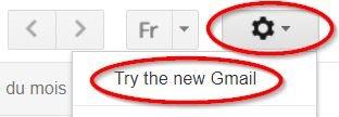 Comment activer le nouveau Gmail
