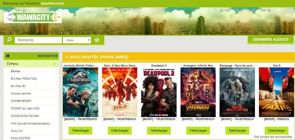 site pour telecharger series et films gratuitement