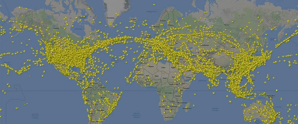 Comment rester informé en temps réel de l'état du trafic aérien ?