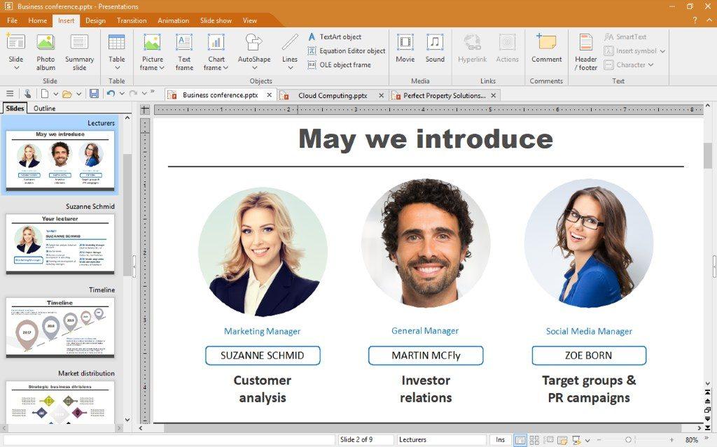 Alternative Microsoft PowerPoint pour Linux
