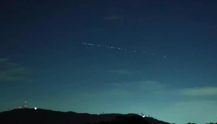 La constellation Starlink de SpaceX
