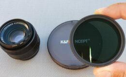 Filtre ND Variable K&F Concept
