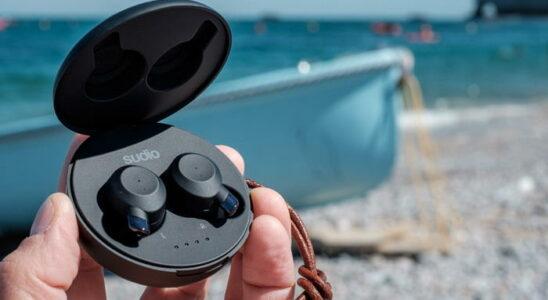Les écouteurs intra True Wireless Sudio Fem