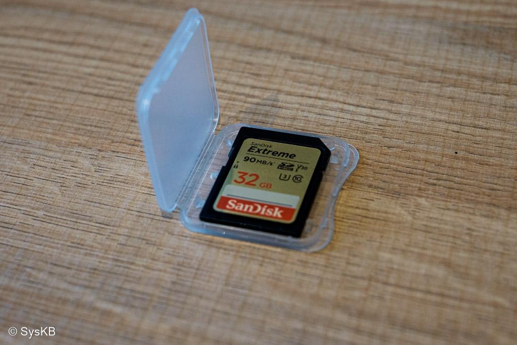 Carte SD SanDisk Extreme de 32 GB