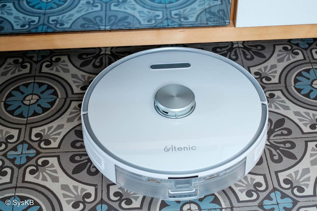 Le robot Ultenic T10 dans la cuisine