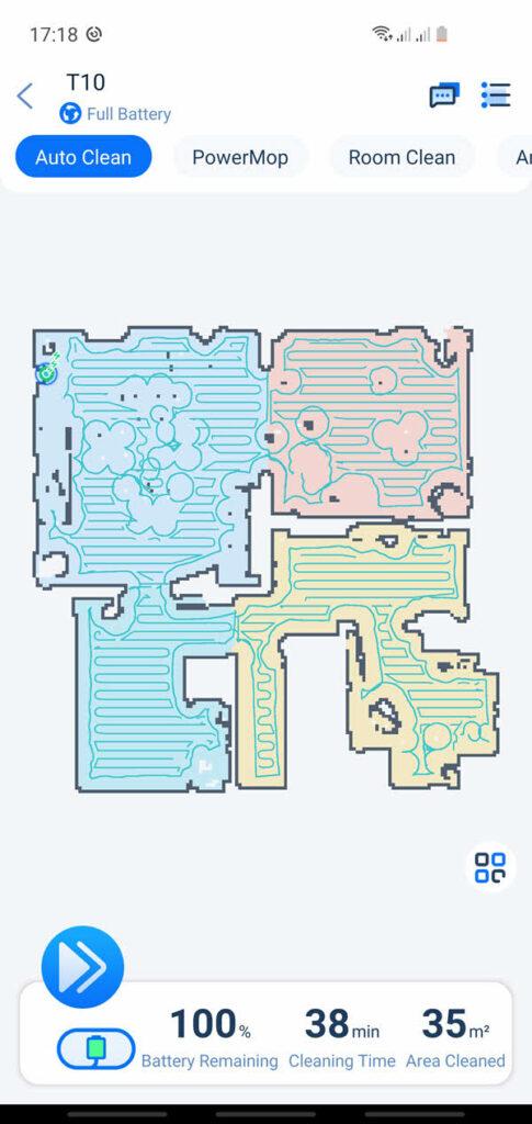 Cartographie laser de mon domicile